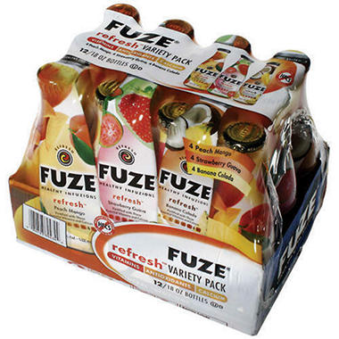 Fuze Refresh - 12/18oz Bottles