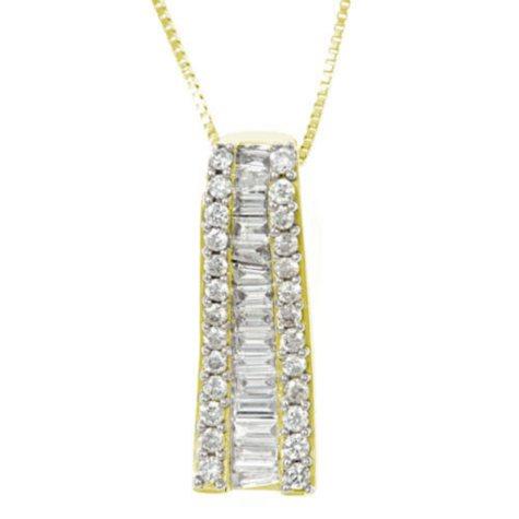 .50 ct. t.w. Diamond Pendant (H-I, I1)
