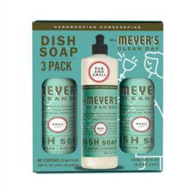 Mrs. Meyer's Liquid Dish Soap, Choose Your Scent (16 fl. oz., 3 ct.)