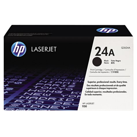 HP 24A Original Laser Jet Toner Cartridge, Black (2,500 Yield)
