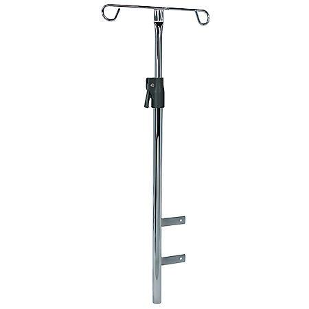 Detecto Adjustable Chrome IV Pole