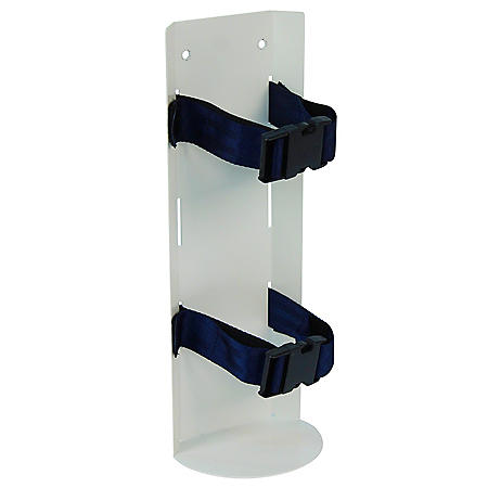 Detecto Oxygen Tank Holder with Accessory Rail for Rescue Cart