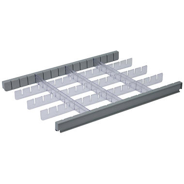 Detecto 3 Inch Drawer Divider Set for Rescue Cart