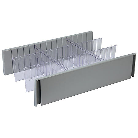 Detecto 6 Inch Drawer Divider Set for Rescue Cart