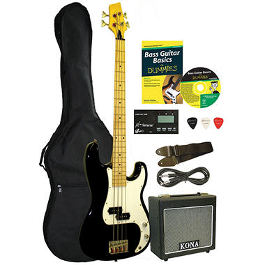 Bass Guitar For Dummies Starter Package