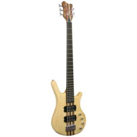 Kona 5 String Bass with Solid Ash Wood Body