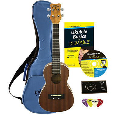 Ukulele For Dummies Starter Package