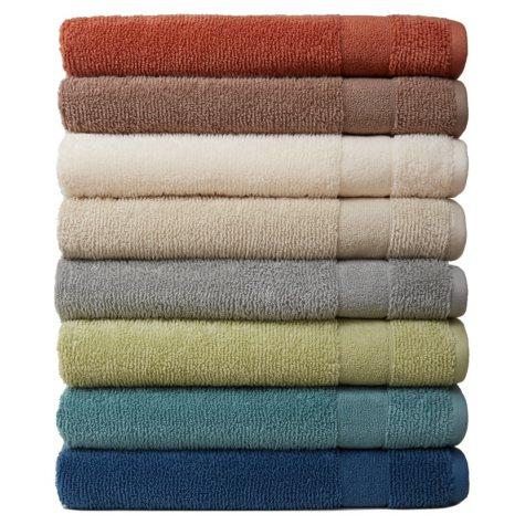 Softesse Kushlon Texture 2-Piece Towel Set (Assorted Colors)