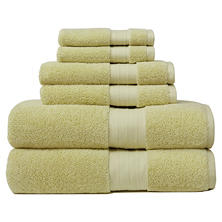 Crowning Touch Luxury 6-Piece Turkish Towel Set (Assorted Colors)