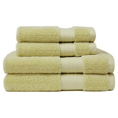 Crowning Touch Luxury 4-Piece Turkish Towel Set (Assorted Colors)