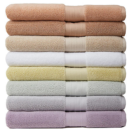 Crowning Touch Luxury 2-Piece Turkish Towel Set (Assorted Colors)