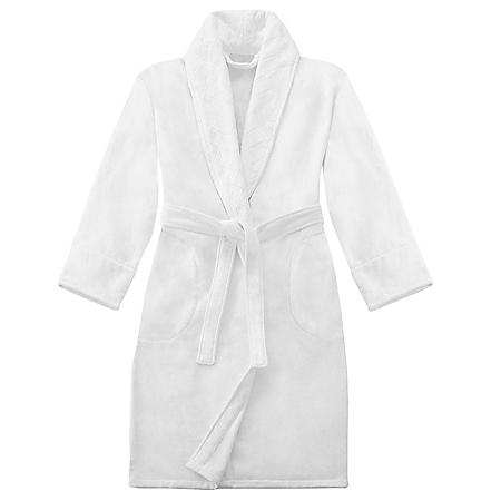 Crowning Touch Unisex Terry Velour Bathrobe