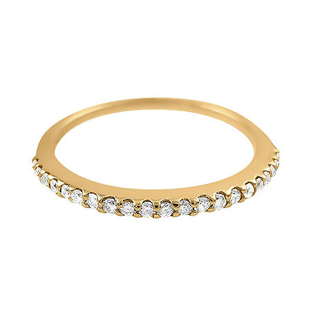 0.15 CT. T.W. Diamond Band in 14K Gold (H-I,I1)