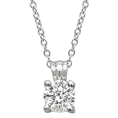 0.70 CT. Diamond Solitaire Pendant (I, SI2)