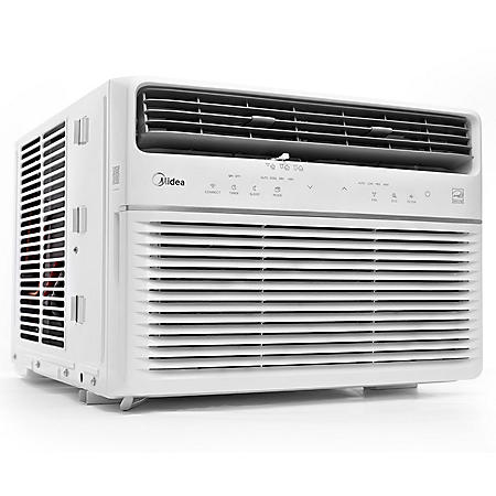Midea 8,000 BTU Room Window Air Conditioner, Remote Control, Energy Star w/Wifi & Voice Control