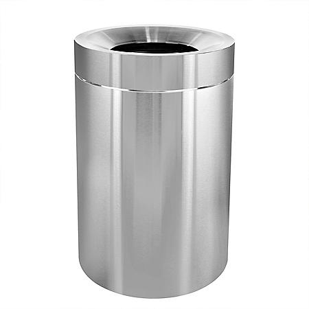 Alpine Industries 50-Gallon Stainless Steel Indoor Trash Can