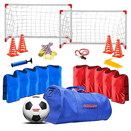 Champ Celebrations All-In-One Soccer Set