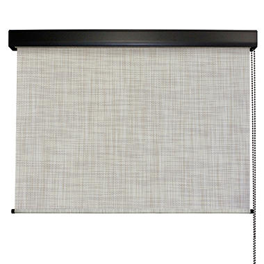 Cord Operated Solar Shade, Fabric Color - Carribean
