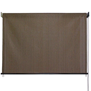 4u0027 X 6u0027 Outdoor Solar Shade, Cord Roller Controlled, Multiple Colors