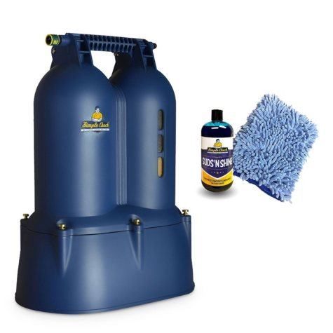Simple Chuck's Double Chuck Deionized Water Filtration System Package Deal