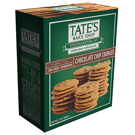 Tate's Bake Shop Chocolate Chip Cookies (21 oz.)