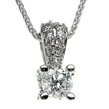 .70 ct. t.w. Diamond Solitaire Pendant (H-I, I1)