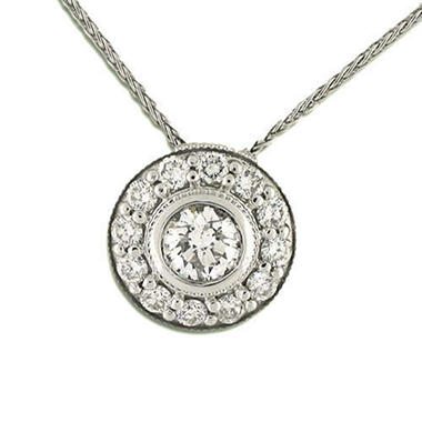 .76 ct. t.w. Diamond Fashion Pendant (H-I, I1)