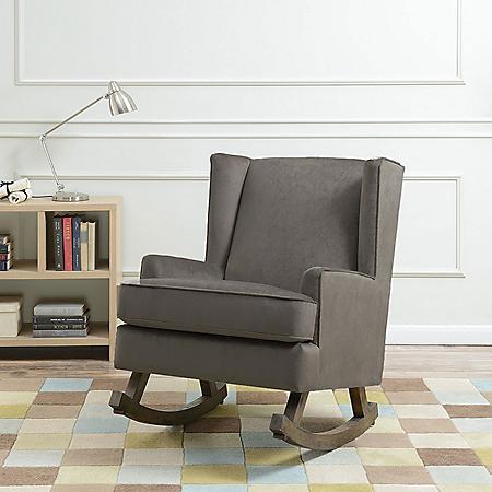 Lily Glider Chair - Granite
