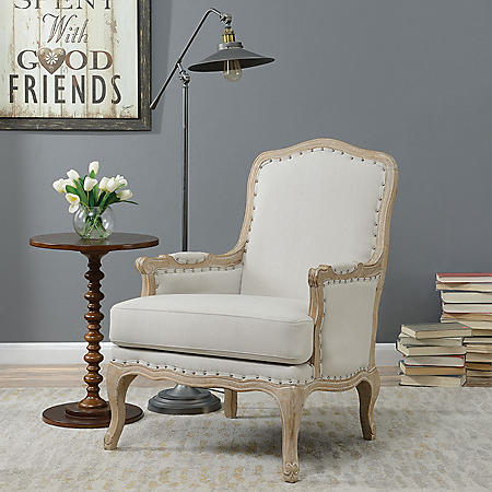 Regal Accent Chair - Taupe