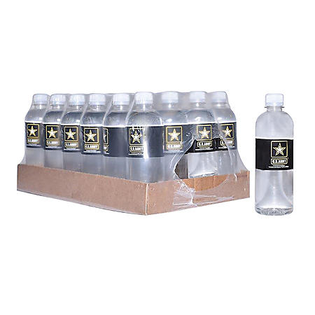 US Army Bottled Water Pallet Select Quantity (16.9oz)
