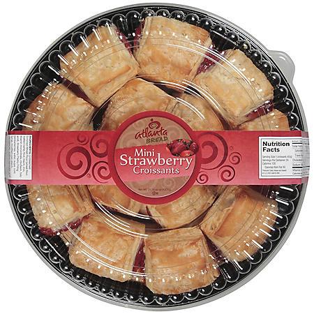 Atlanta Bread® Strawberry Croissants - 35.55 oz.