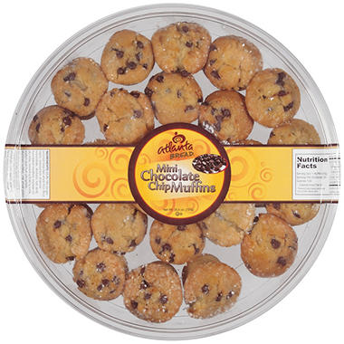 Atlanta Bread® Mini Chocolate Chip Muffins - 25.5 oz.