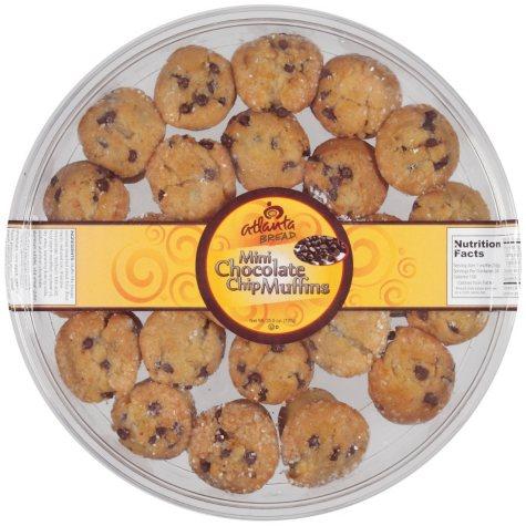 Atlanta Bread® Mini Chocolate Chip Muffins - 25.5 oz.