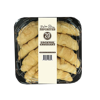 Atlanta Bread Company PreBaked Cocktail Croissants (20 ct.)