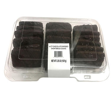 Member's Mark Chocolate Shortbread Cookie (18 ct., 36 oz.)