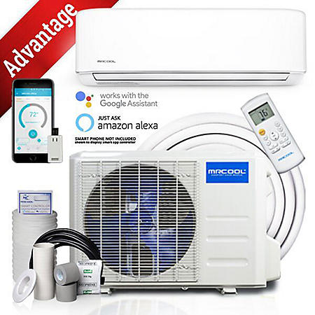 12,000 BTU 1 Ton Ductless Mini Split Air Conditioner and Heat Pump