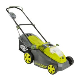 Sun Joe 16 40 Volt Cordless Lawn Mower Battery Charger Not Included