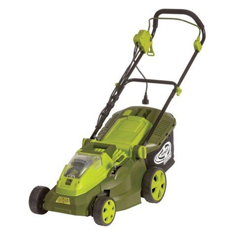 "Sun Joe 40V Hybrid Cordless or Electric 16"" Lawn Mower"