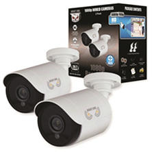 Night Owl 2-Pack Add-On 1080p HD Wired Security Bullet Cameras