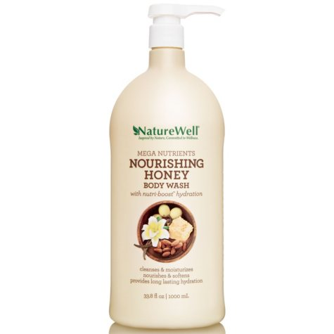 Nature Well Mega Nurtrients Nourishing Honey Body Wash (33.8 fl. oz.)