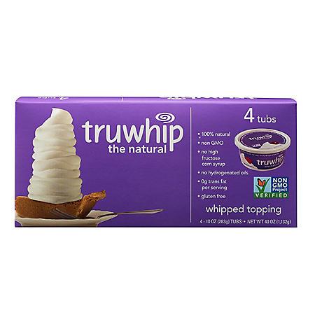 Truwhip Topping (10 oz. tub, 4 ct.)