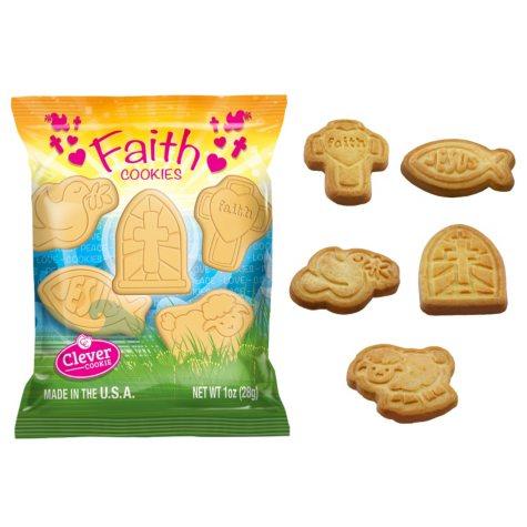 Faith Shortbread Cookie Snack Packs (1 oz., 85 ct.)
