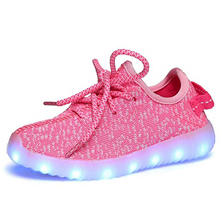 WonderTech SlickKicks LED Pink Shoes with Carry Bag - (Assorted Sizes)