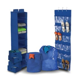 Honey-Can-Do Room Organization Kit (8-pieces)