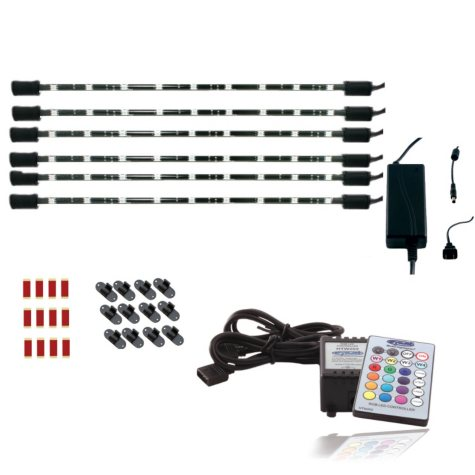 "CYRON 6'x15"" Multicolor LED Light System - Wireless Remote"