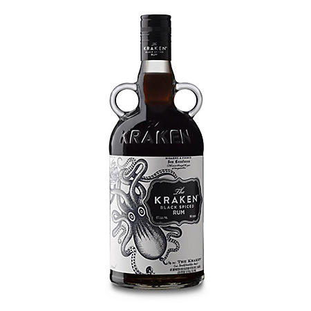 The Kraken Spiced Black Rum (1.75 L)