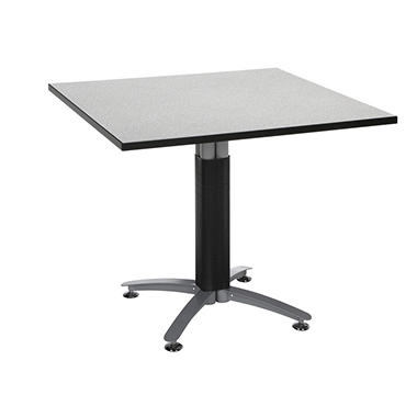 Square Metal-Base Table - Gray Nebula - 36