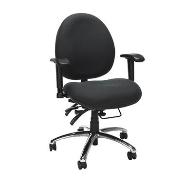 24-Hour Big & Tall Chair - Charcoal