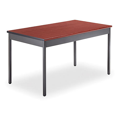 "OFM Core Collection 30"" x 48"" Multi-Purpose Utility Table, in Cherry (UT3048-CHY)"
