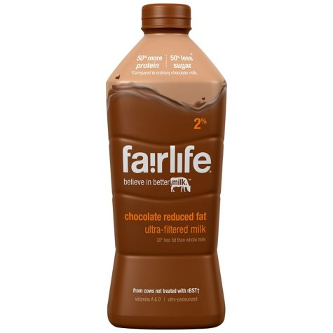Fairlife 2 % Chocolate Ulta-Filtered Milk ( 52 oz., 2 ct.)